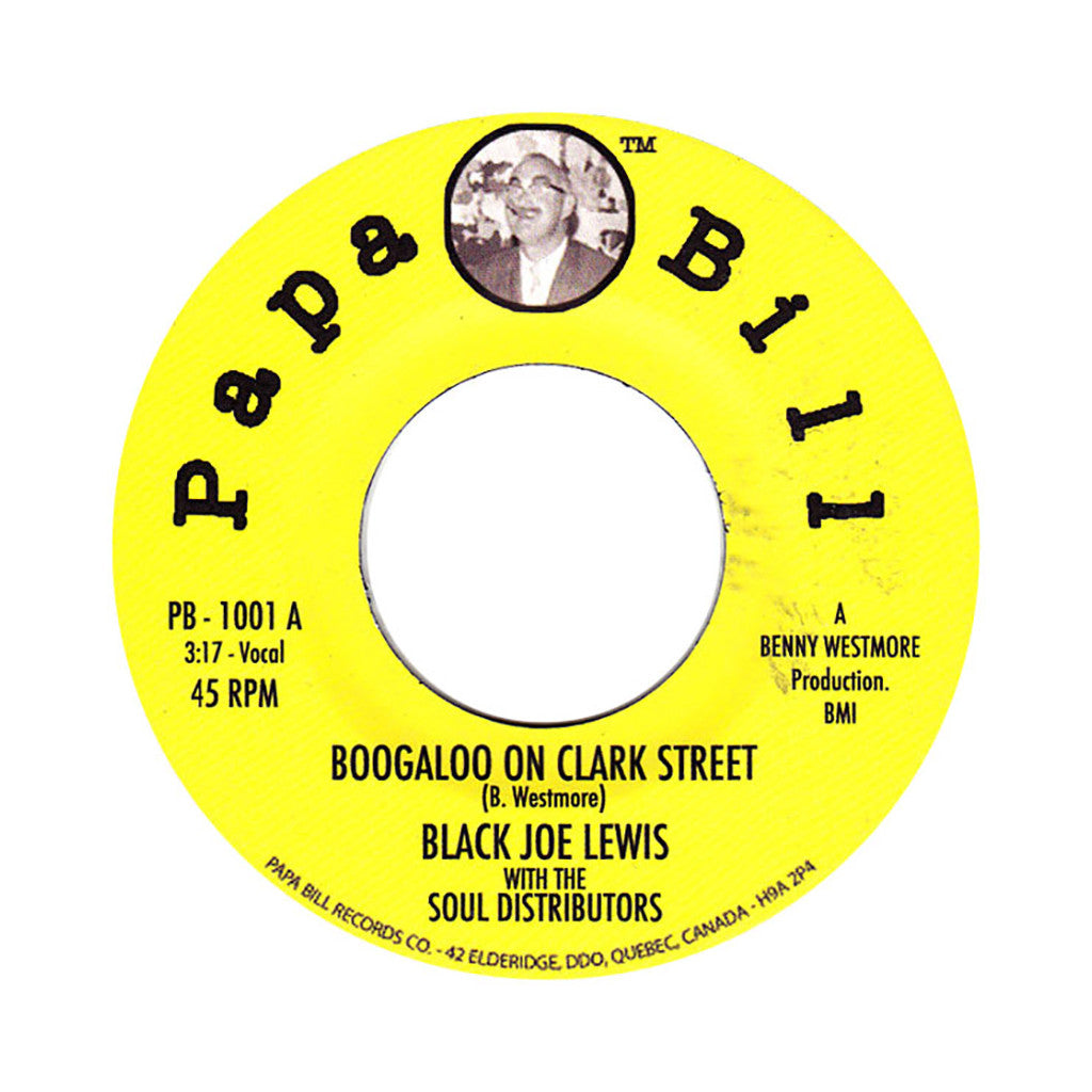 "Black Joe Lewis & The Soul Distributors - 'Boogaloo On Clark Street/ Queens And Jacks' [(Black) 7"" Vinyl Single]"