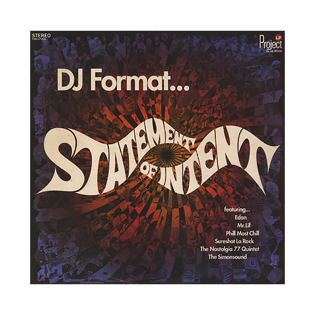 <!--2012022853-->DJ Format - 'Statement Of Intent' [(Black) Vinyl [2LP]]