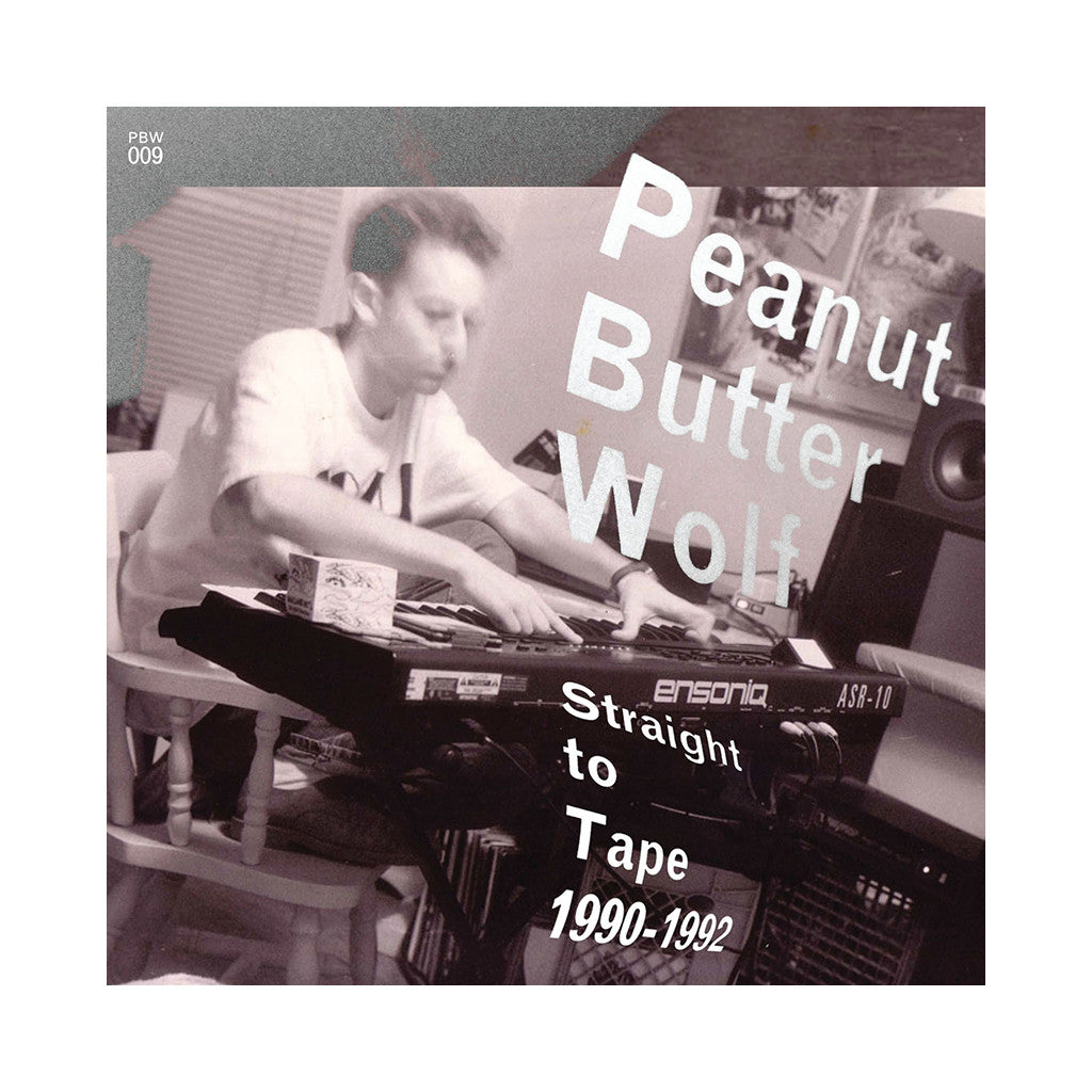 <!--120090915018333-->Peanut Butter Wolf - 'Straight To Tape 1990-1992' [CD]
