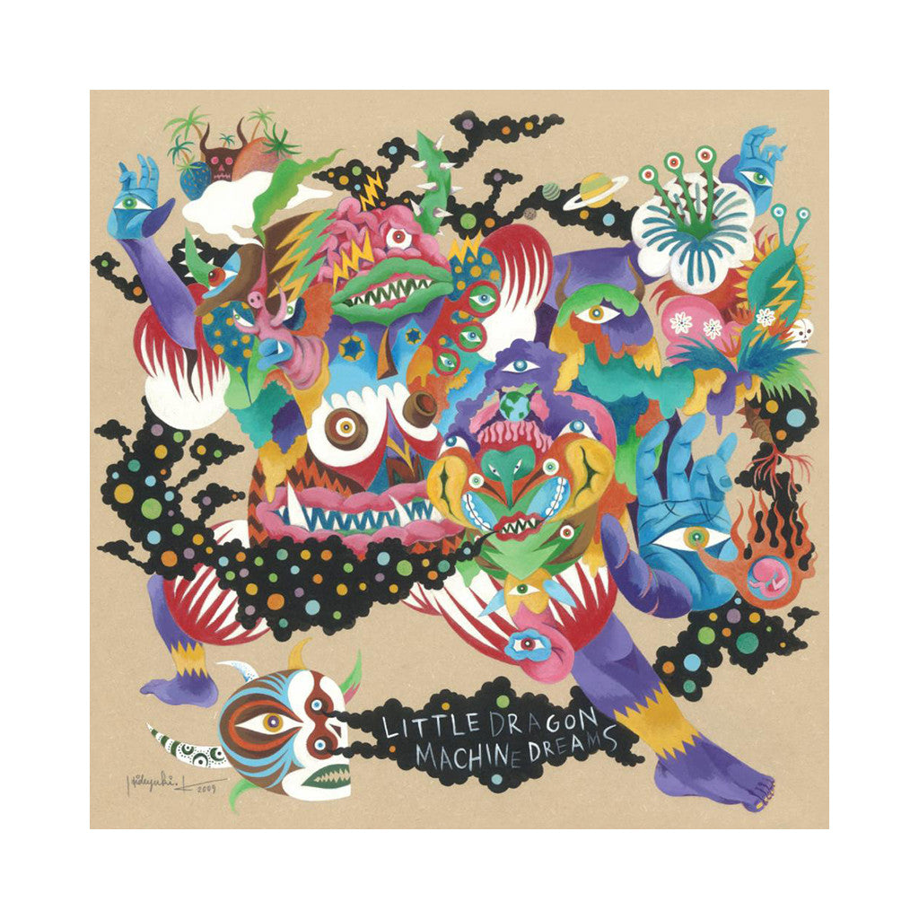 <!--120150710002442-->Little Dragon - 'Machine Dreams' [CD]