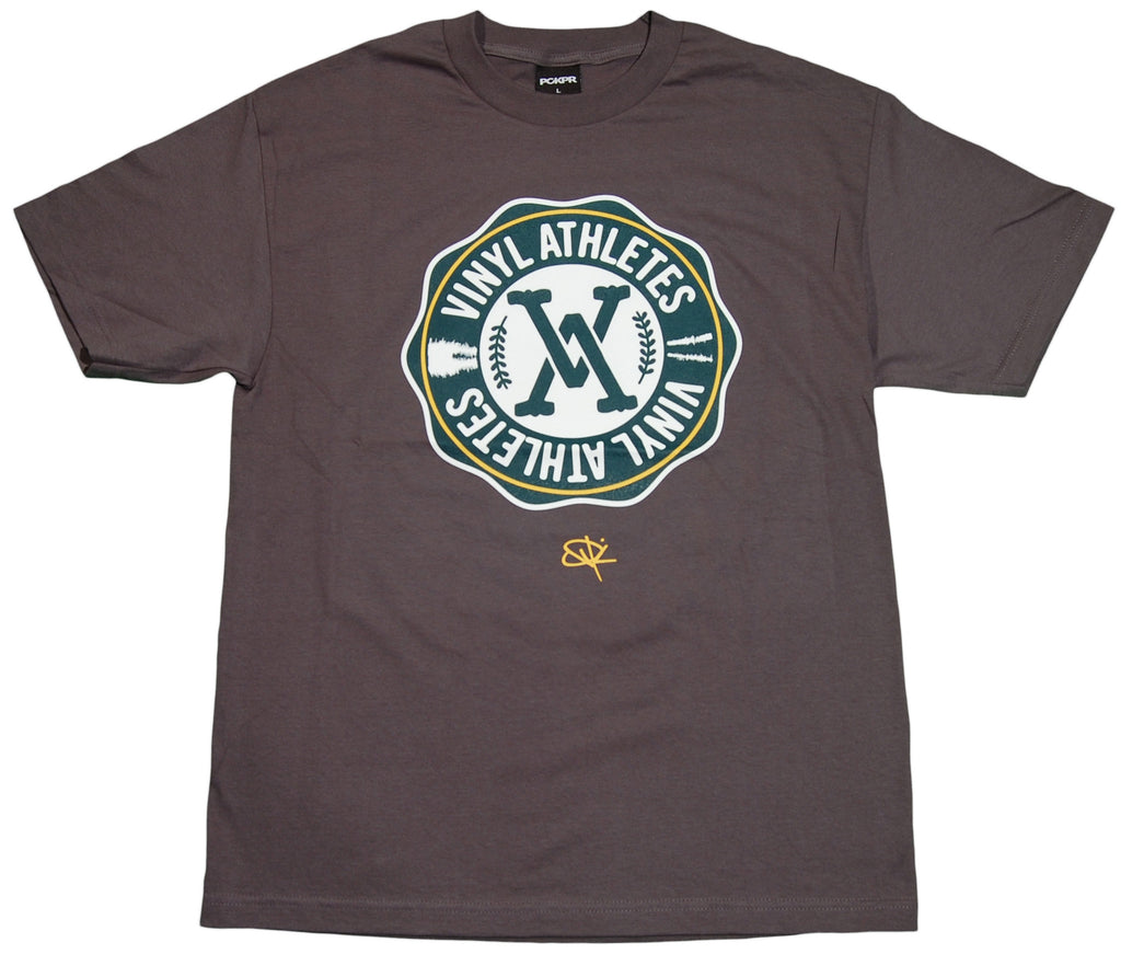 <!--2011050341-->PCKPR x Vinyl Athletes - 'PCKPR x Vinyl Athletes' [(Dark Gray) T-Shirt]
