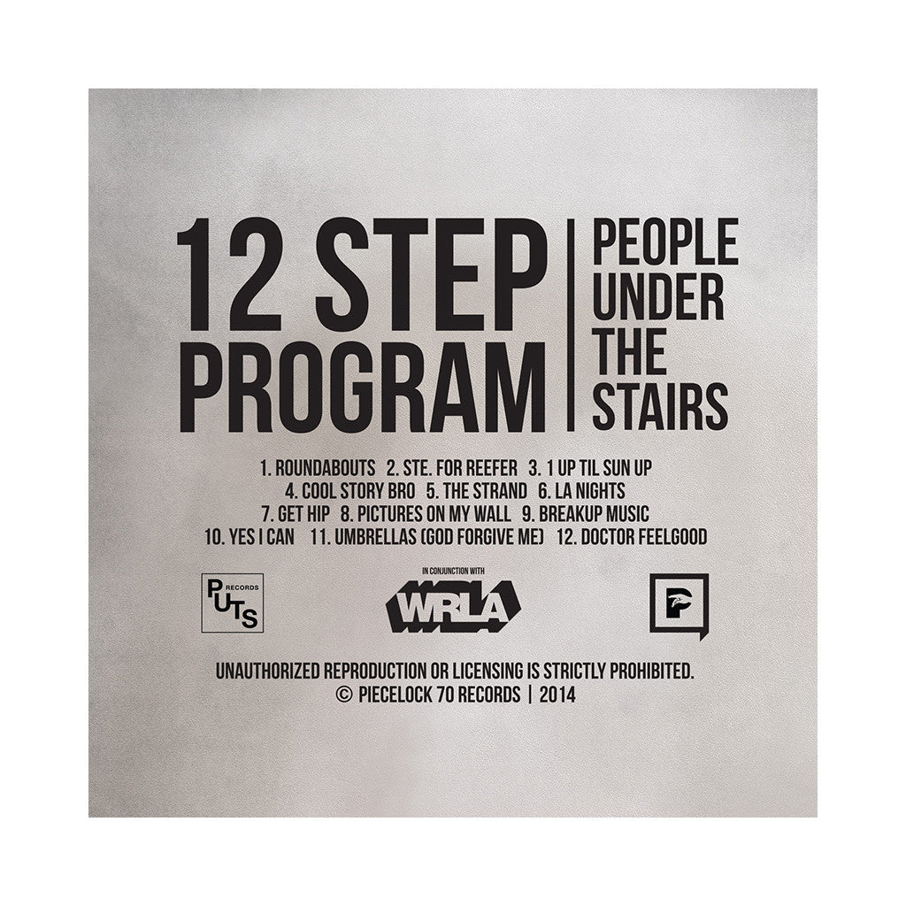 <!--020140506062983-->People Under The Stairs - '12 Step Program' [(Clear Blue + Clear Orange) Vinyl [2LP]]