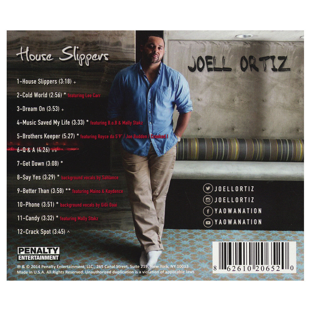 <!--2014091620-->Joell Ortiz - 'House Slippers' [CD]