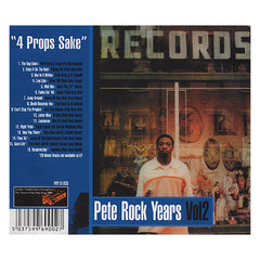 Pete Rock - 'Pete Rock Years Vol. 2: 4 Props Sake' [CD]