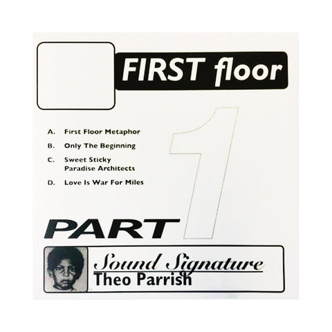 Theo Parrish - 'First Floor Pt. 1' [(Black) Vinyl EP]