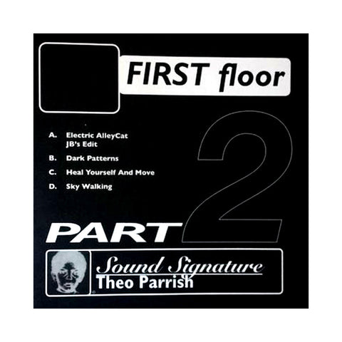 Theo Parrish - 'First Floor Pt. 2' [(Black) Vinyl EP]