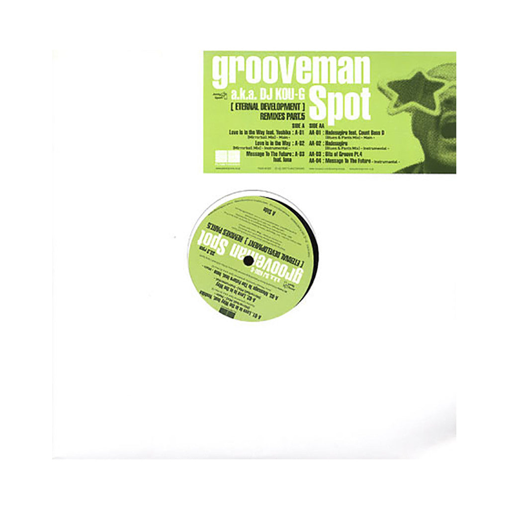 <!--2008062352-->Grooveman Spot - 'Message To The Future' [Streaming Audio]