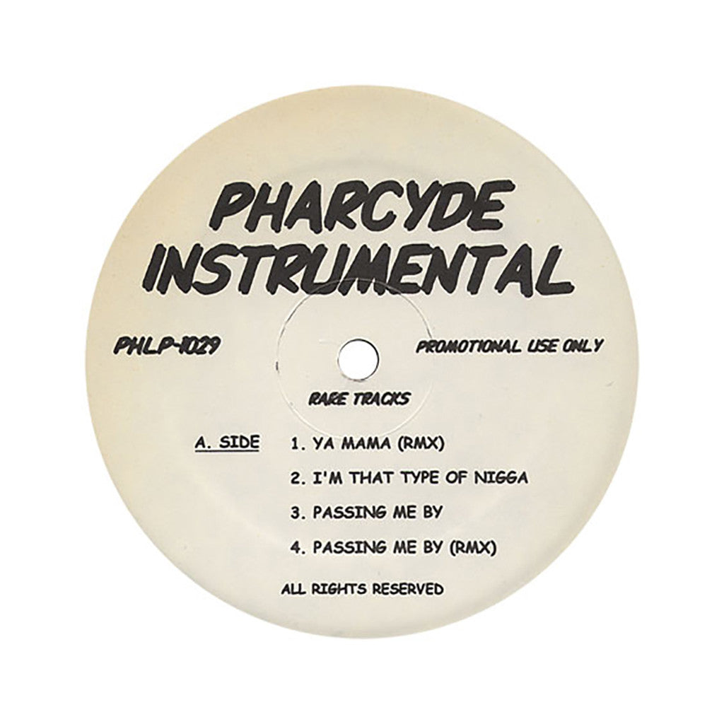 <!--019000101011473-->The Pharcyde - 'Instrumentals' [(Black) Vinyl LP]