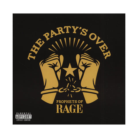 Prophets Of Rage - 'The Party's Over EP' [CD]