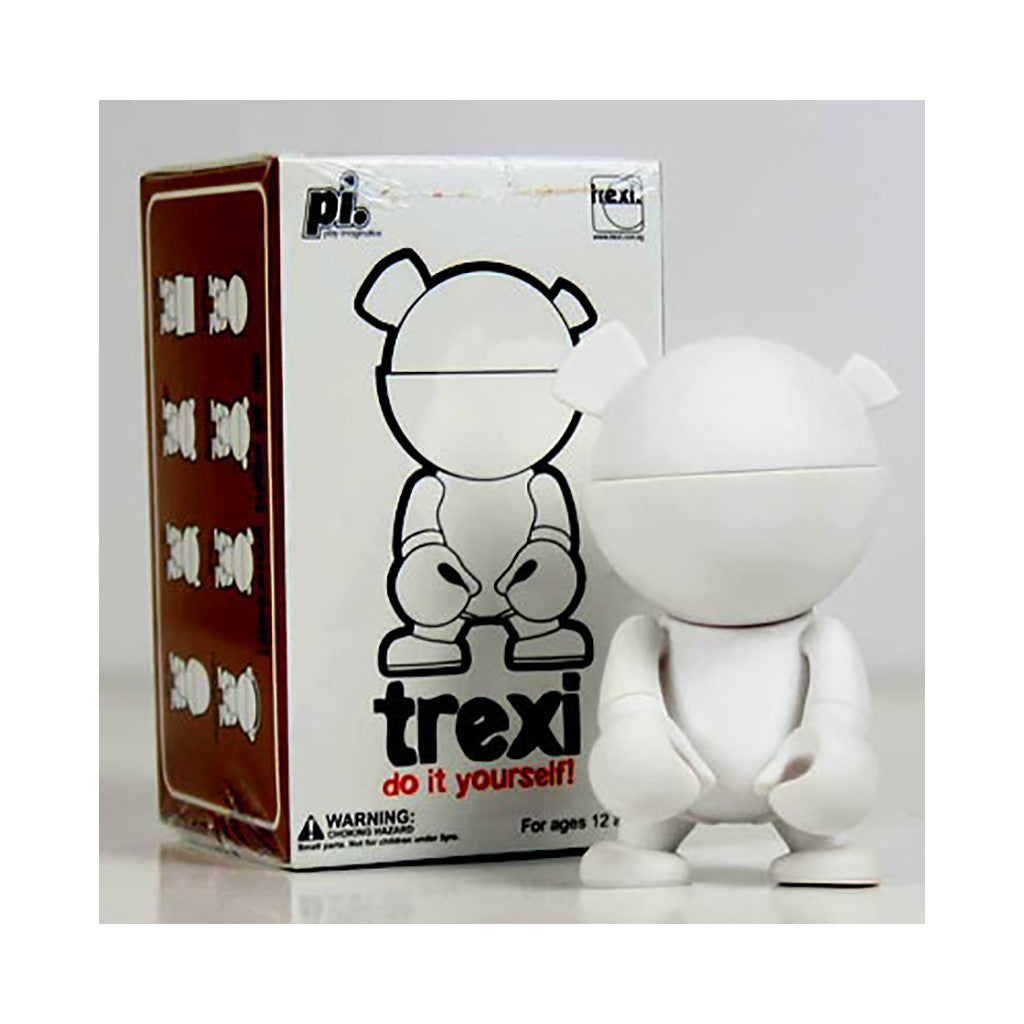 <!--020080930015010-->Trexi - 'Bear (D.I.Y.)' [(White) Toy [Blank Do-It-Yourself]]