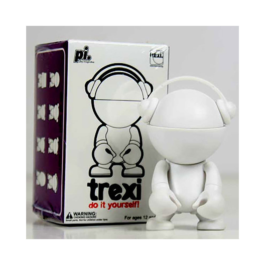 <!--020080930015008-->Trexi - 'Headphone (D.I.Y.)' [(White) Toy [Blank Do-It-Yourself]]