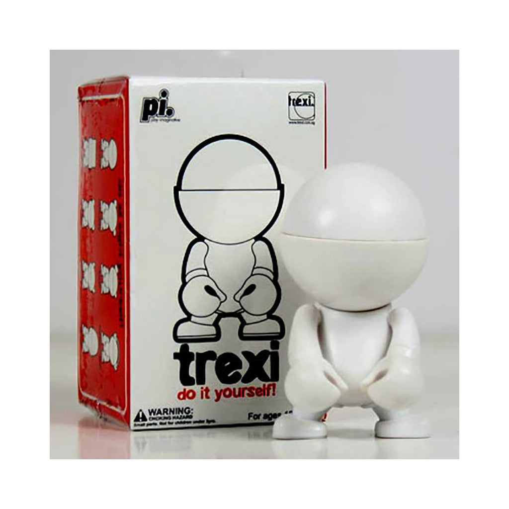 <!--020080930015004-->Trexi - 'Round (D.I.Y.)' [(White) Toy [Blank Do-It-Yourself]]