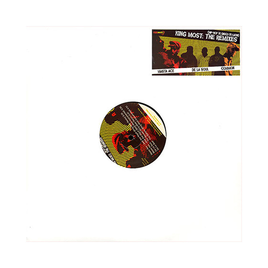 "<!--020080325013402-->King Most - 'Jeep Ass Niguh (Remix)/ The Bizness (Remix)/ Go (Remix)' [(Black) 12"" Vinyl Single]"