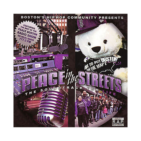 Various Artists (Peace Boston) - 'Peace In The Streets: The Soundtrack For Life' [CD [2CD]]