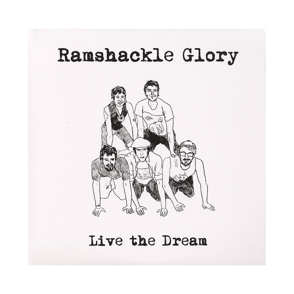 <!--2012081454-->Ramshackle Glory - 'Live The Dream' [(Black) Vinyl LP]