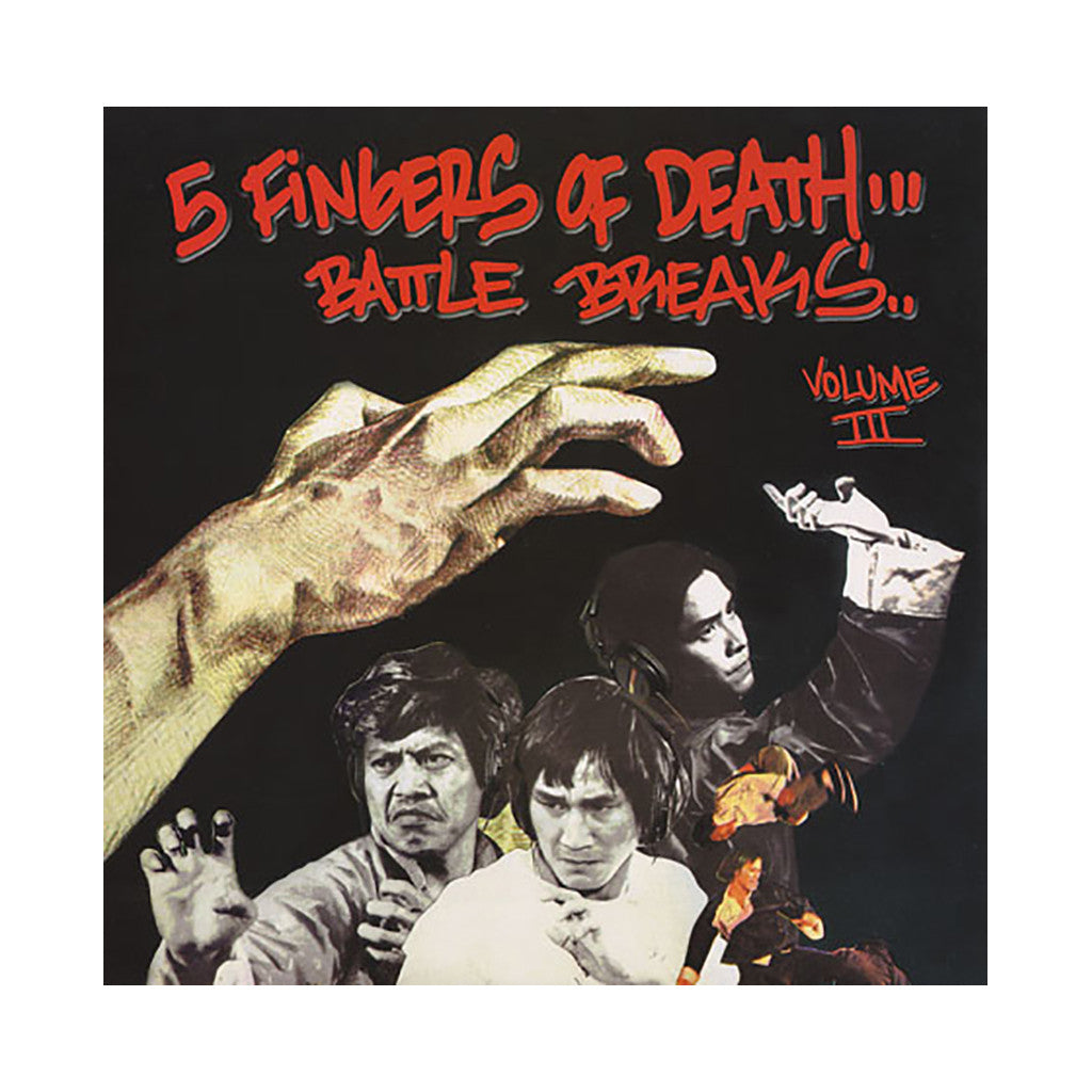 <!--019000101013135-->Paul Nice - 'Five Fingers Of Death Vol. 3' [(Black) Vinyl LP]