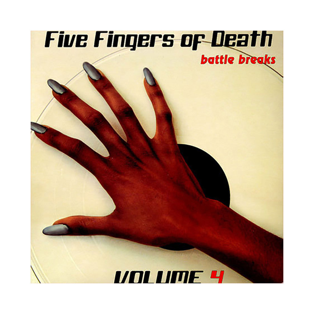 Paul Nice - 'Five Fingers Of Death Vol. 4' [(Black) Vinyl LP]
