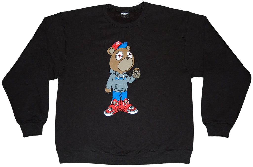 <!--2011110107-->PCKPR - 'Beareezy' [(Black) Crewneck Sweatshirt]