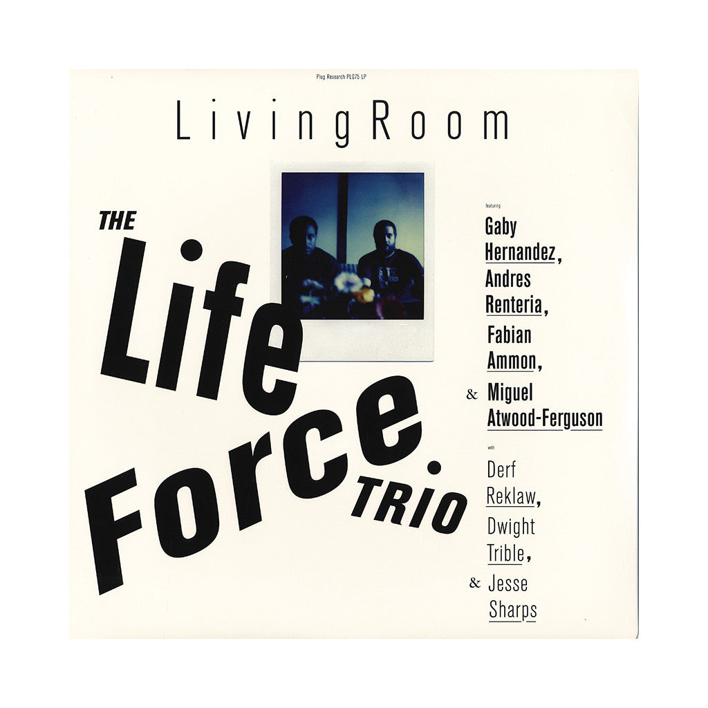 The Life Force Trio - 'Living Room' [CD]