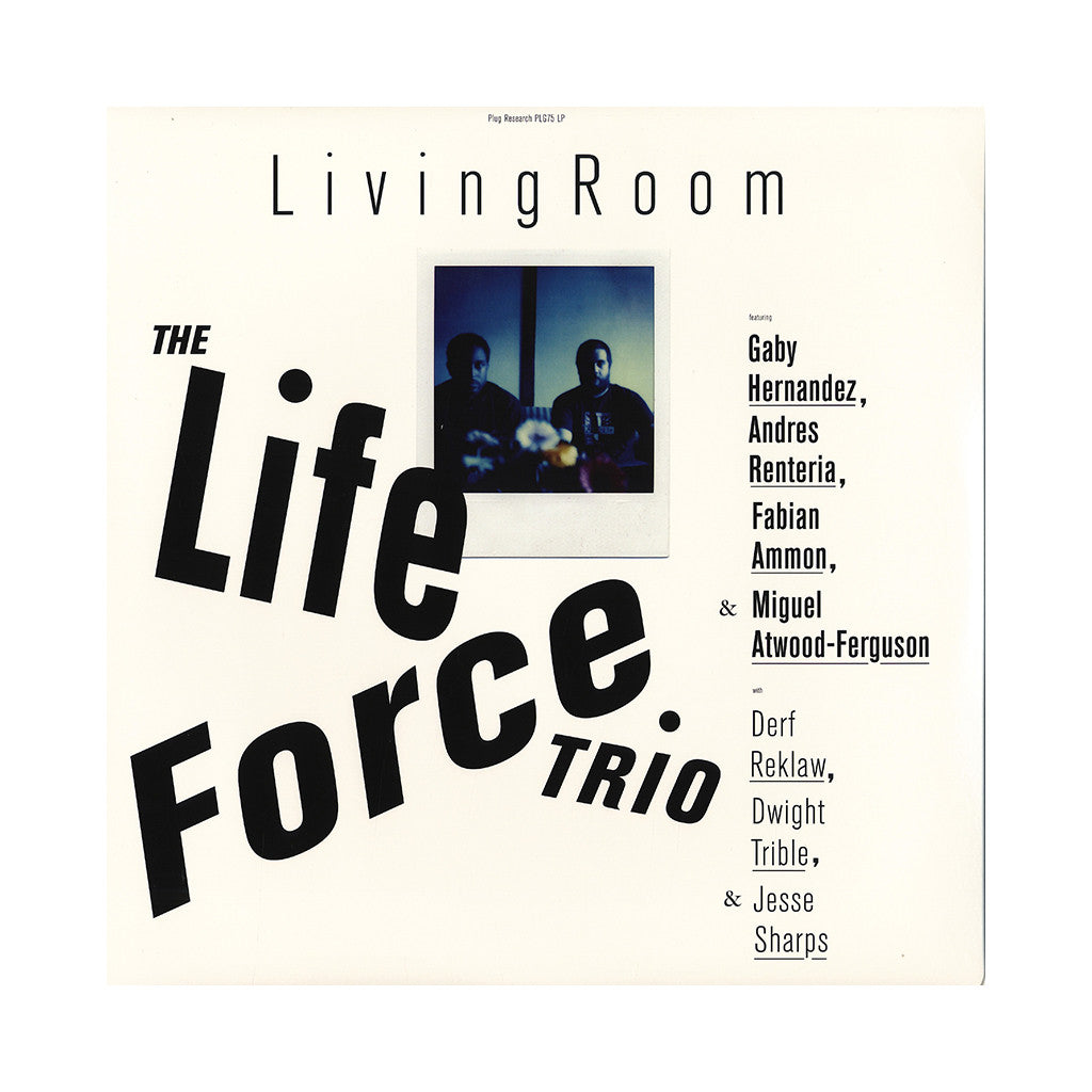 The Life Force Trio - 'Living Room' [(Black) Vinyl LP]
