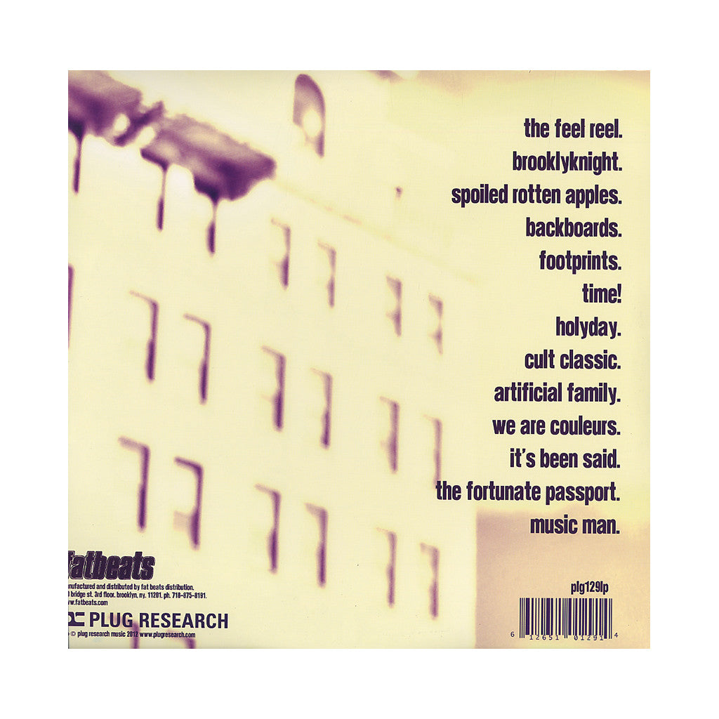 <!--2012052203-->Sene - 'Brooklyknight' [(Purple & White) Vinyl [2LP]]