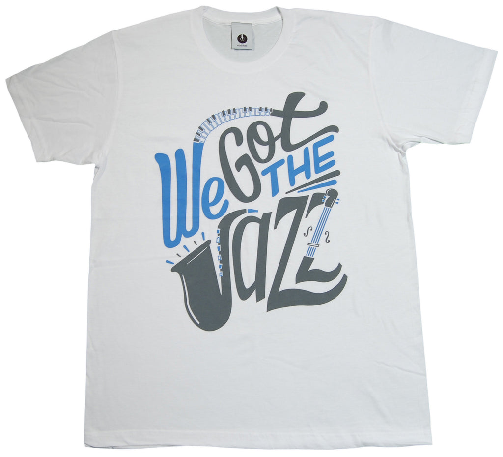 Plug Label - 'We Got The Jazz' [(White) T-Shirt]