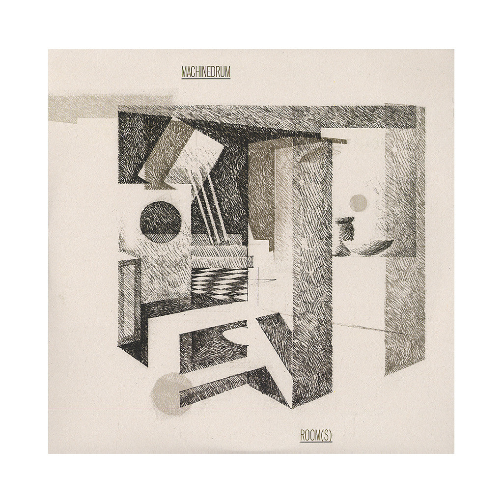 <!--120110816032307-->MachineDrum - 'Room(s)' [(Black) Vinyl [2LP]]