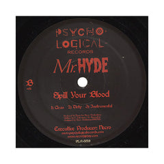 "<!--020040810011845-->Mr. Hyde - 'Say My Name/ Spill Your Blood' [(Black) 12"" Vinyl Single]"