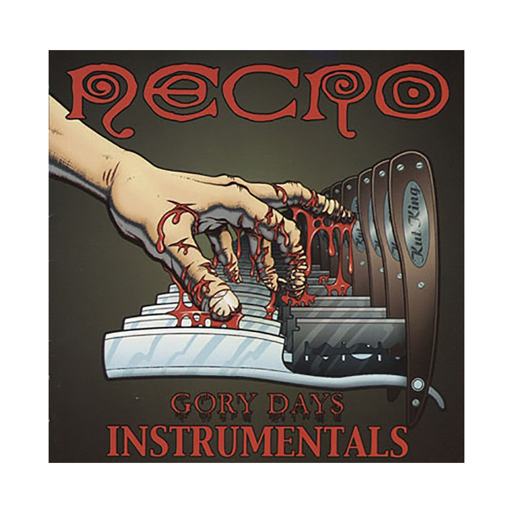<!--020030114011803-->Necro - 'Gory Days (Instrumentals)' [CD]