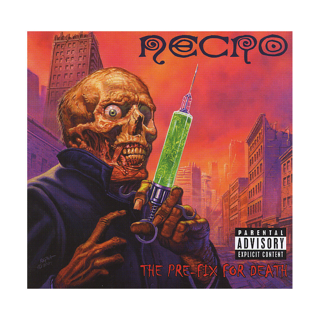 <!--120040928011804-->Necro - 'The Pre-Fix For Death' [CD]