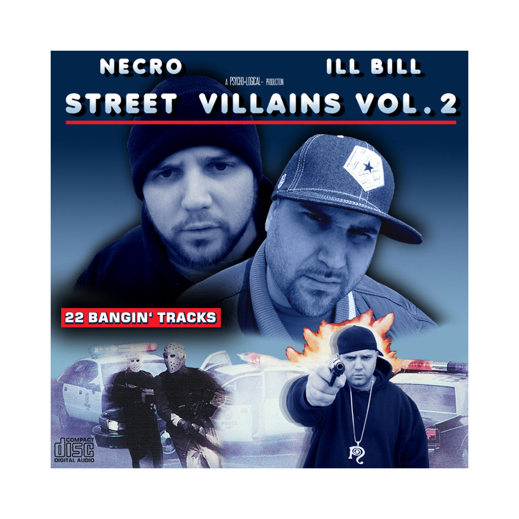 <!--020050621005233-->Necro & ILL Bill - 'Street Villains Vol. 2' [CD]