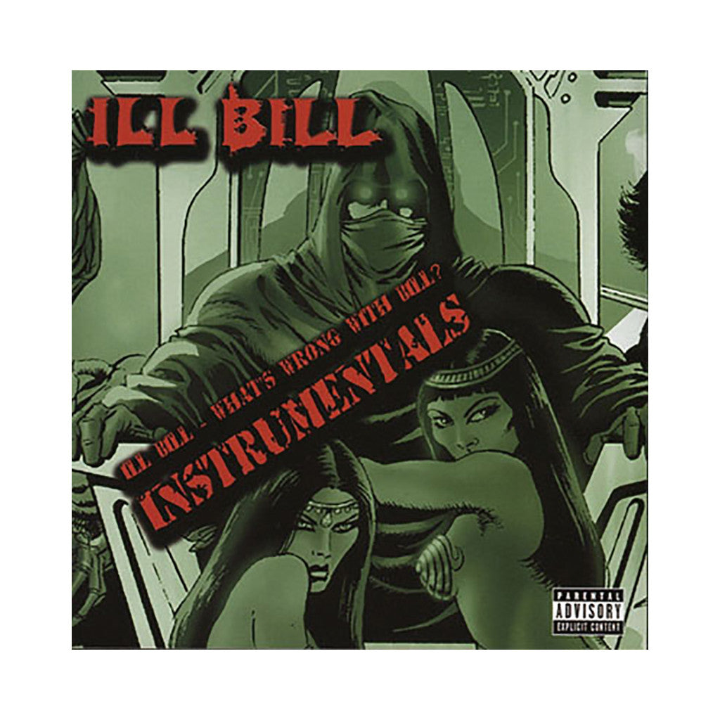 <!--2005062142-->ILL Bill - 'What's Wrong With Bill? (Instrumentals)' [CD]
