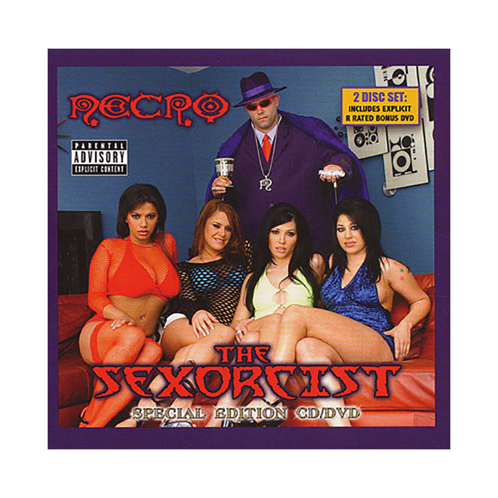 Necro - 'The Sexorcist (Special Edition)' [CD]