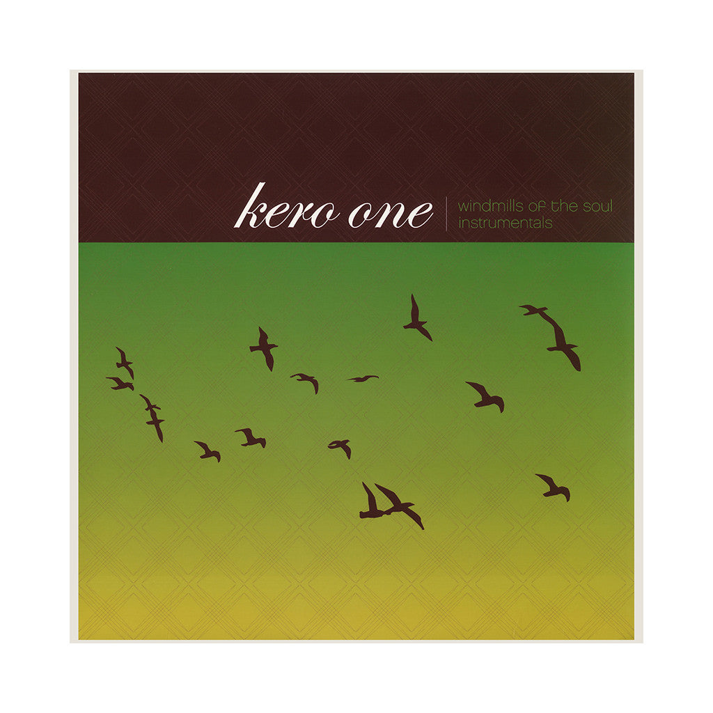 Kero One - 'Windmills Of The Soul (Instrumentals)' [CD]