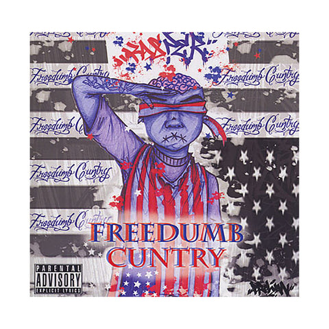 Kasper - 'FreeDumb Cuntry' [CD]