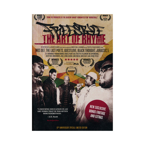 Freestyle - 'The Art Of Rhyme: 10th Anniversary Special Edition' [DVD]