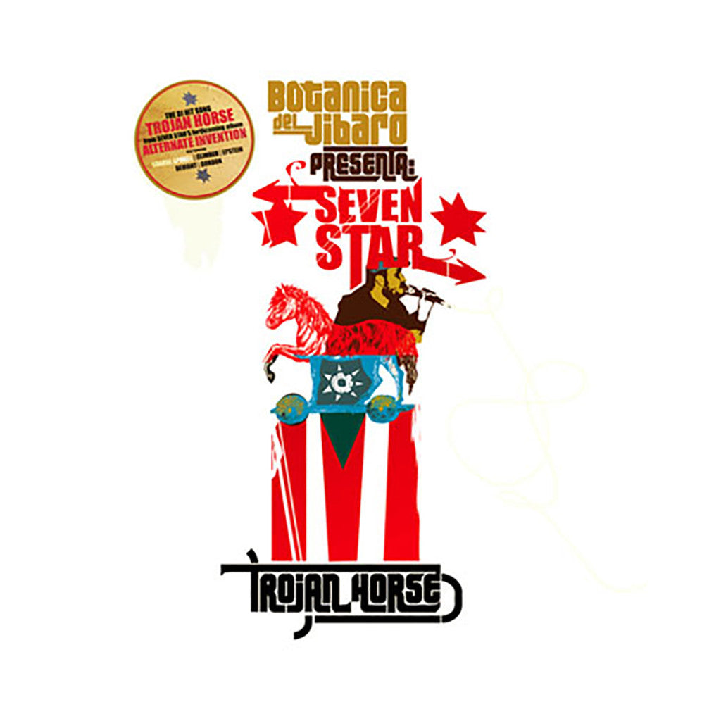 "<!--020060912001264-->Seven Star - 'Trojan Horse/ Trojan Horse (Remix)/ The Long Walk/ The Long Walk (Remix)/ The Missing (Remix)' [(Black) 7"""" Vinyl Single]"