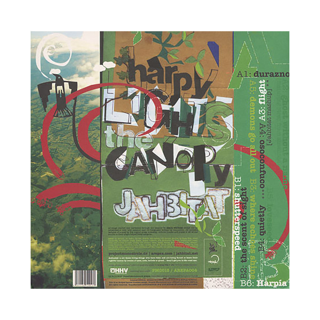 <!--020070612022549-->Jahbitat - 'Harpy Lights The Canopy' [(Black) Vinyl LP]