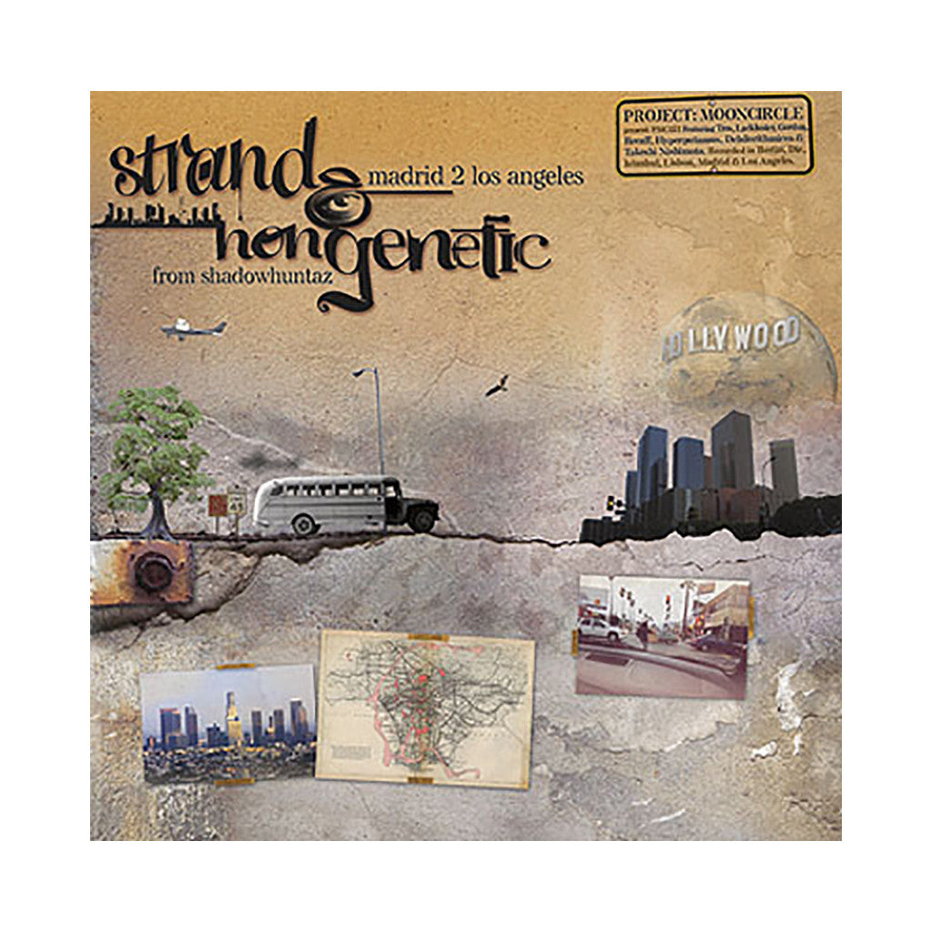 <!--020080318001020-->Strand & NonGenetic - 'Madrid 2 Los Angeles' [CD]