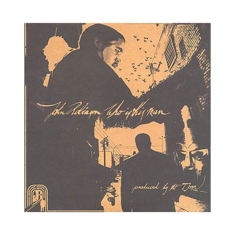John Robinson & M.F. DOOM - 'Who Is This Man?' [(Black) Vinyl [2LP]]