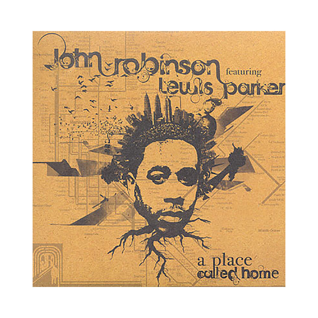 "<!--020090310016982-->John Robinson - 'A Place Called Home/ The Big Picture' [(Black) 7"" Vinyl Single]"