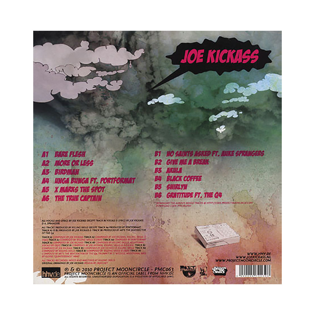 Joe Kickass - 'Mind Joe' [(Black) Vinyl LP]