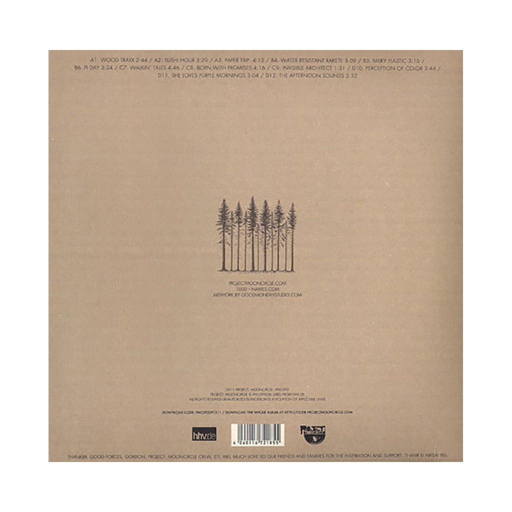 <!--020111213039757-->1000 Names - 'Invisible Architect' [(Black) Vinyl [2LP]]