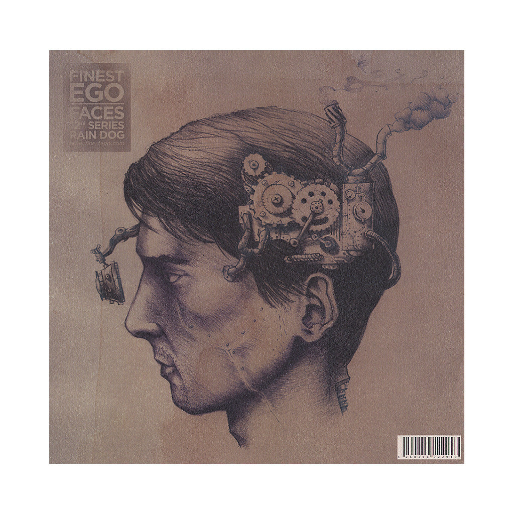 "<!--020120807046654-->Sekuoia b/w Rain Dog - 'Finest Ego Vol. 3 (Faces 12"" Series)' [(Black) Vinyl EP]"