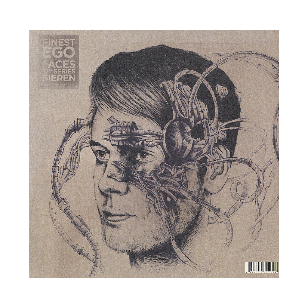 "Lomovolokno b/w Sieren - 'Finest Ego Vol. 4 (Faces 12"" Series)' [(Black) Vinyl EP]"