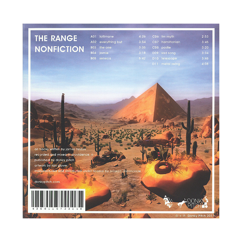 <!--2013102914-->The Range - 'Nonfiction' [(Black) Vinyl [2LP]]