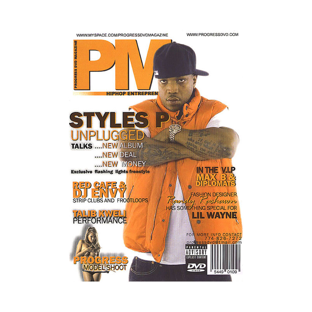 <!--020080422013590-->Progress DVD Magazine - 'Hip Hop Entreprenuers Vol.1' [DVD]