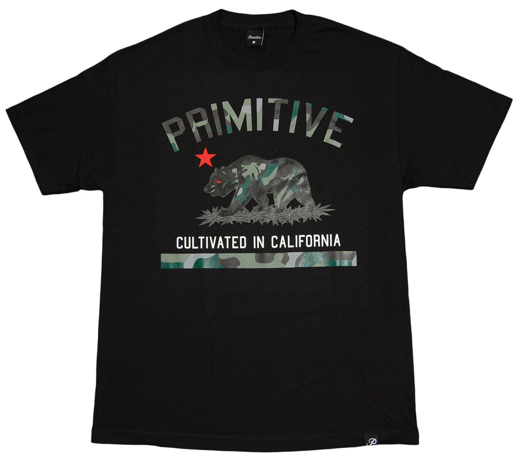 Primitive - 'Cultivated Camo' [(Black) T-Shirt]