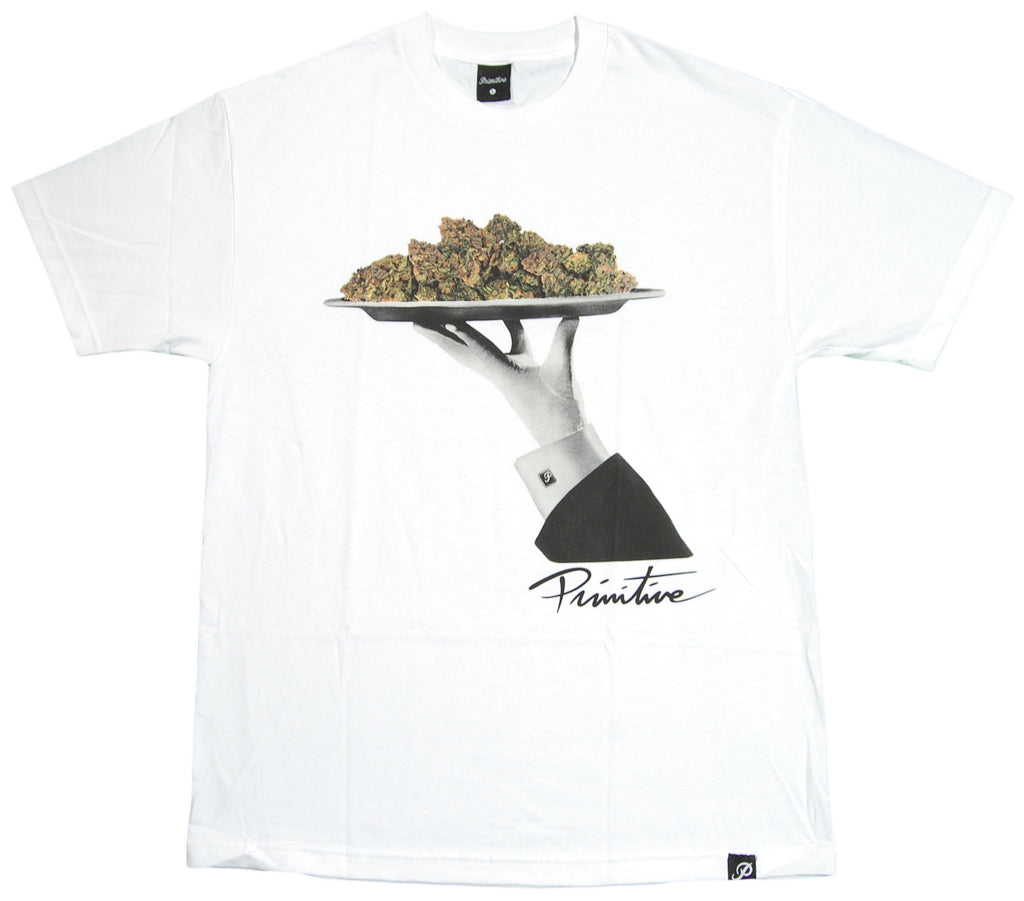 <!--2012092557-->Primitive - 'Main Course' [(White) T-Shirt]