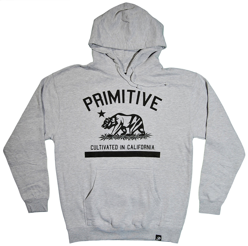 <!--2013102216-->Primitive - 'Cultivated' [(Gray) Hooded Sweatshirt]
